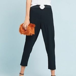 Anthropologie The Essential Pull On Trouser Black